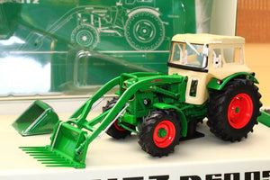 Uh6200 Universal Hobbies Deutz D 6005 Gift Set! Tractors And Machinery (1:32 Scale)