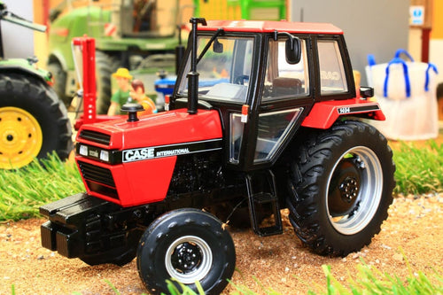UH6209 UNIVERSAL HOBBIES CASE INTERNATIONAL 1494 2WD RED BLACK TRACTOR