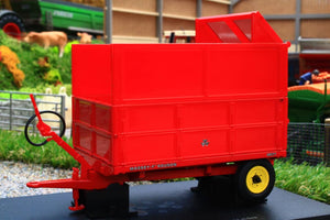 UH6243 UNIVERSAL HOBBIES MASSEY FERGUSON MF21 3.5 TON TIPPING TRAILER WITH SILAGE SIDES