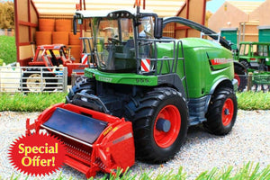 W7813 WIKING FENDT KATANA 85 FORAGE HARVESTER WITH TWO HEADERS