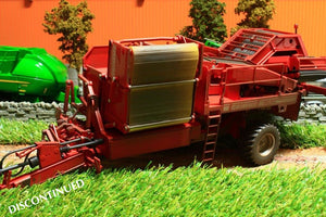 W7816 WEATHERED WIKING GRIMME BUNKER POTATO HARVESTER SPECIAL ORDER ONLY 2 WEEK DELIVERY