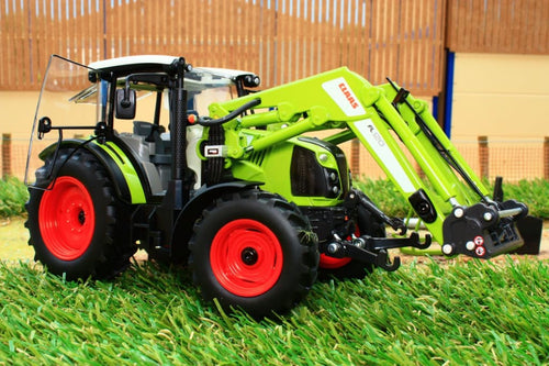 W7829 Wiking Claas Arion 430 With Detachable 120 Front Loader Tractors And Machinery (1:32 Scale)