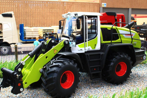 W7833 Wiking Claas Wheeled Loader Torion 1812 With Bucket And Forks Tractors And Machinery (1:32