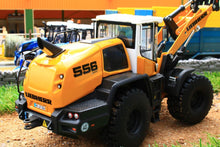 Load image into Gallery viewer, W7840 Wiking Liebherr 556 Wheeled Loader Tractors And Machinery (1:32 Scale)