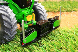 W7843 WIKING FRONT BUMPER AND WEIGHTS IN JOHN DEERE COLOURS