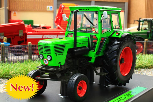 WE2056 WEISE Deutz D100 06 Tractor with Cab 2wd - Limited Edition 400 pieces