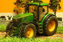 Load image into Gallery viewer, 3282 Weathered Siku John Deere 6210R Tractor Weathered Models (1:32 Scale)