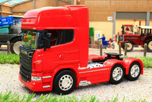 Load image into Gallery viewer, WEL32670LR WELLY 132 SCALE SCANIA R730 V8 6X4 LORRY IN RED