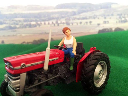 HLT-WM083S 'Sinead' Lady Tractor Driver