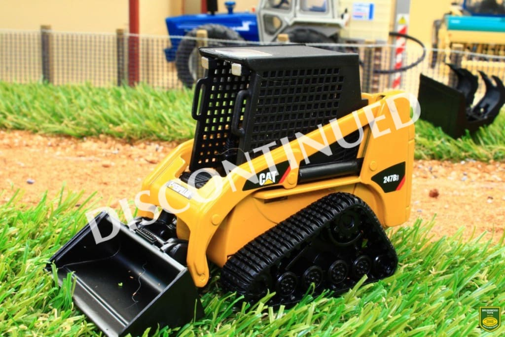 NOR55269 NORSCOT CAT 247B3 COMPACT TRACKED SKID STEER LOADER