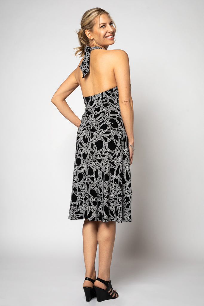 Dress (Halter) - Chic & Flattering!