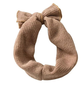 Knot Head Wrap - Brown