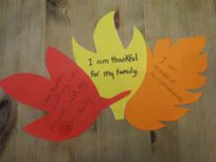 Tree of thanks step 2