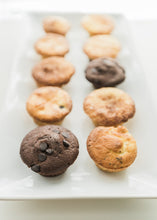 "Load image into Gallery viewer, Mini Muffin ""Flops""--One Dozen"