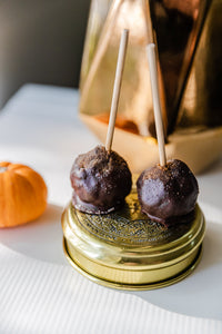 Pumpkin Chocolate Dip Cake Pop—4 pack