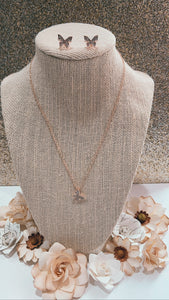 Adelyn Necklace and earring set