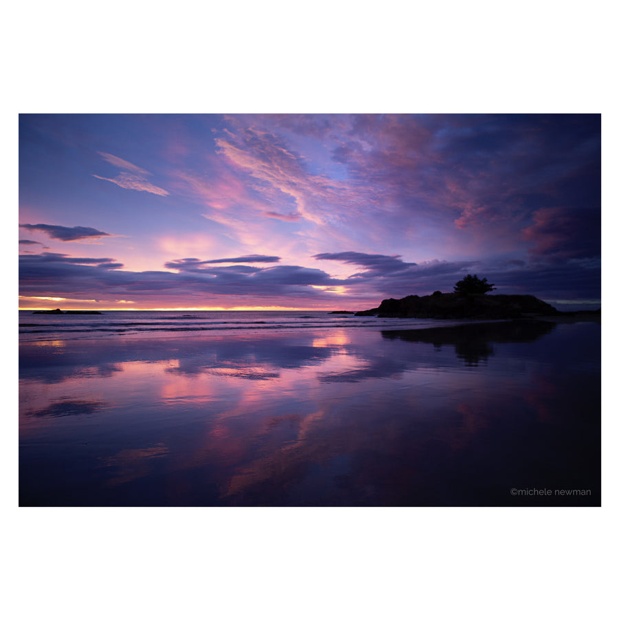 Photo of the sunrise barneys island, Brighton beach, Dunedin, New Zealand