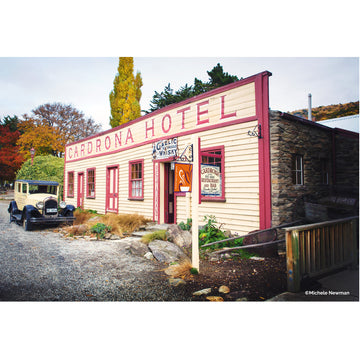 photo cardrona hotel wanaka central otago new zealand