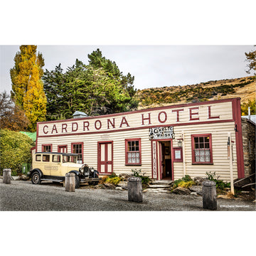 photo of cardrona hotel wanaka central otago new zealand