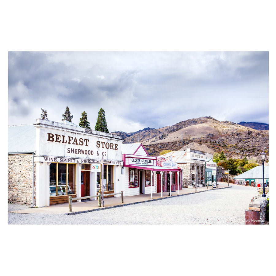 photo of Cromwell old town main street, Lake Dunstan, Central Otago, New Zealand