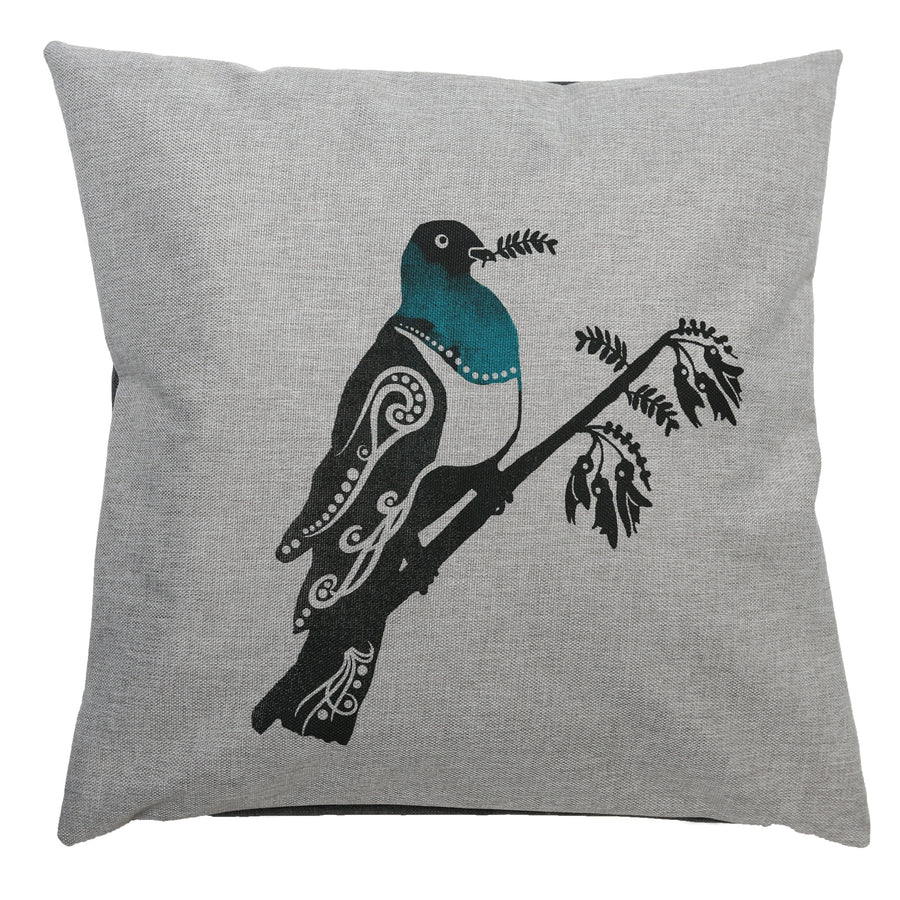 cushion cover kereru wood pigeon starfish photos
