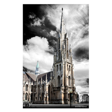 first church of otago, dunedin, new zealand photo art photography