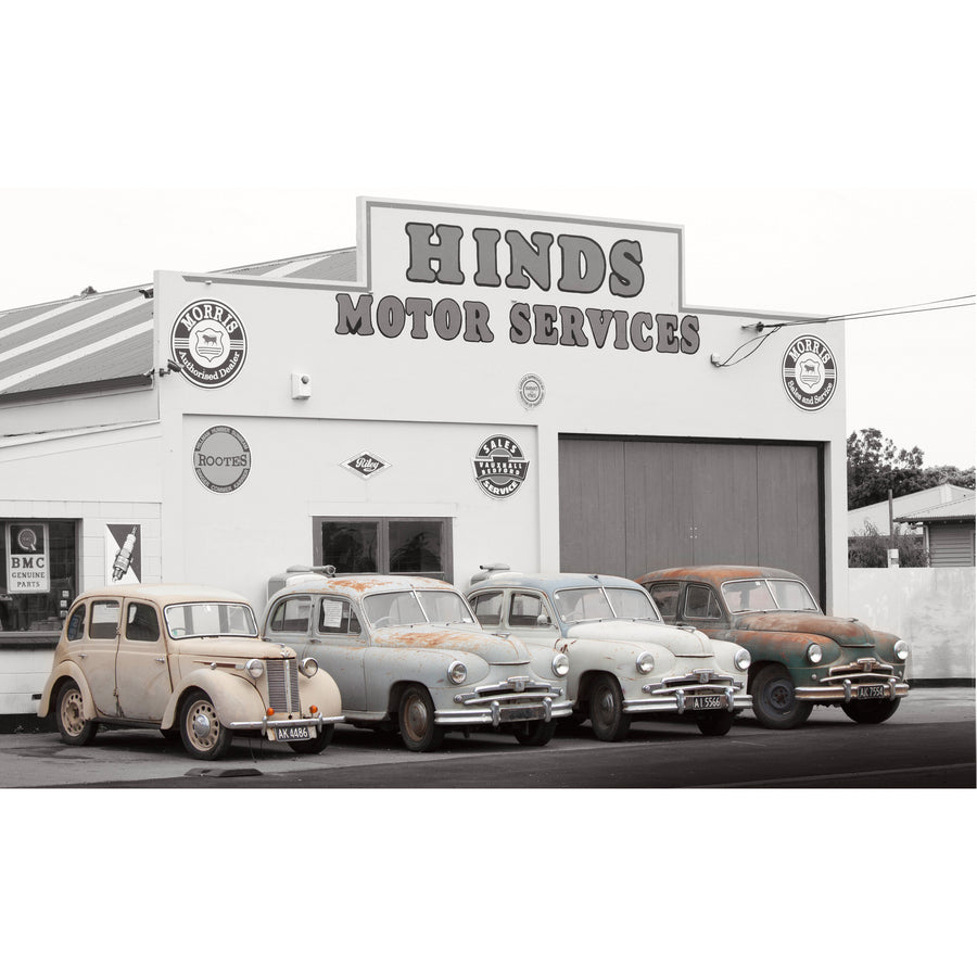 old morris cars hinds motor station new zealand