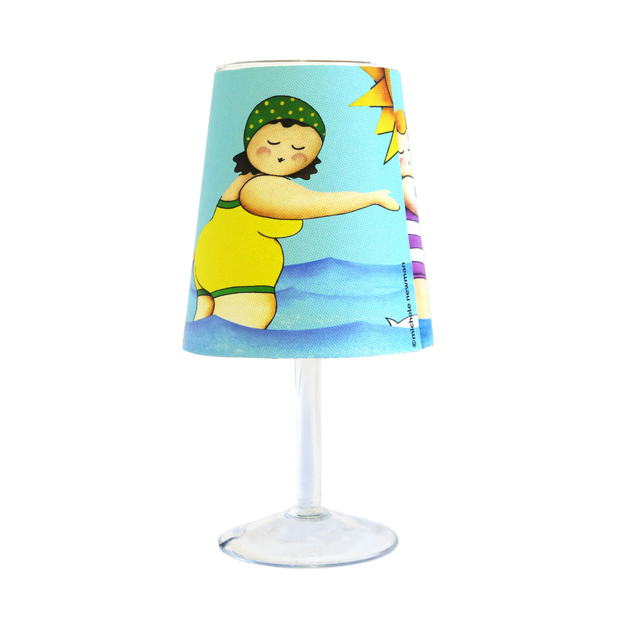 wine glass lamp cover swimming ladies dunedin new zealand