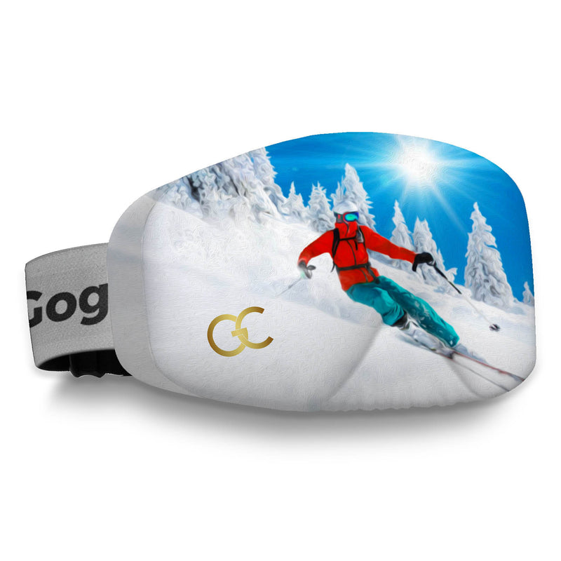 Keep Calm Ski Goggles Cover