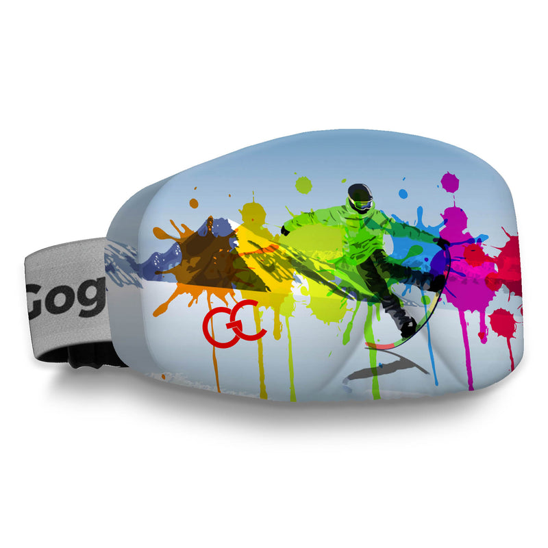 Watercolour Grunge Snowboard Goggles Cover