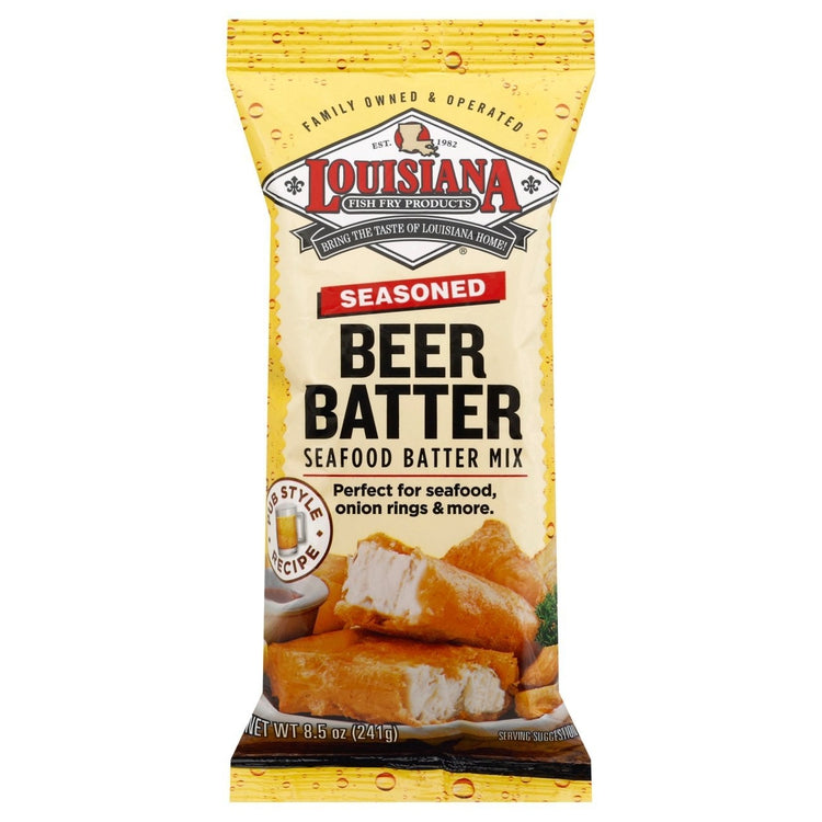 Louisiana Beer Batter Breading Mix