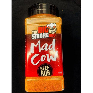 The Big Smoke BBQ - Mad Cow Beef Rub