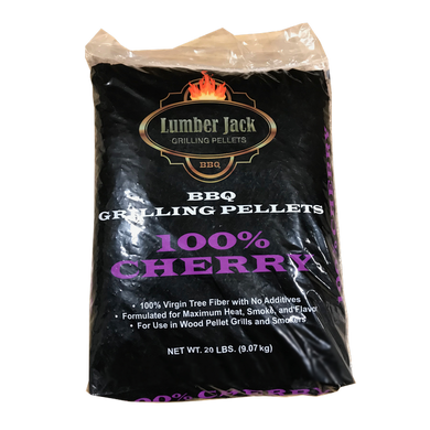 Lumber Jack 100% Cherry Wood BBQ Pellets