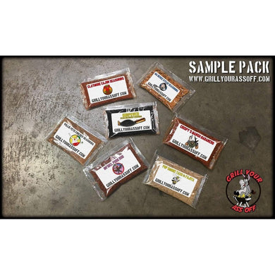 Grill Your Ass Off - Sampler Pack