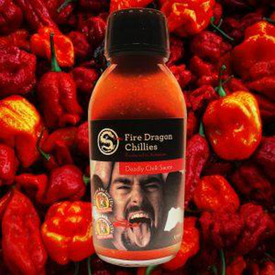 Fire Dragon Chillies Deadly Chilli Sauce 125ml