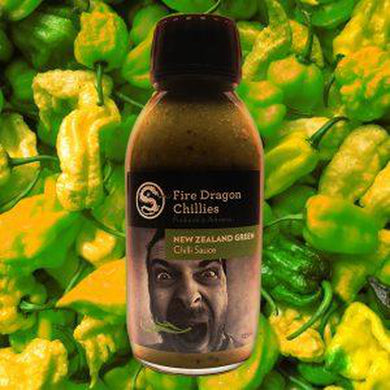 Fire Dragon Chillies NZ Green Chilli Sauce 125ml