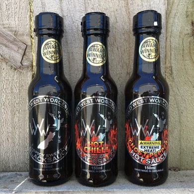Wild West Worcester - Sauce Combo Pack
