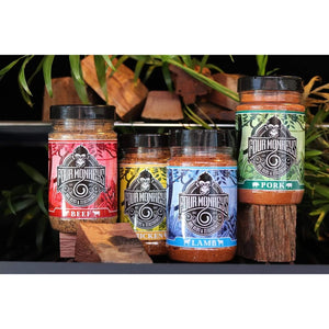 Four Monkeys - Rub Combo Pack