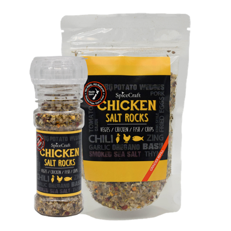 SpiceCraft Salt Rocks Grinder - Chicken