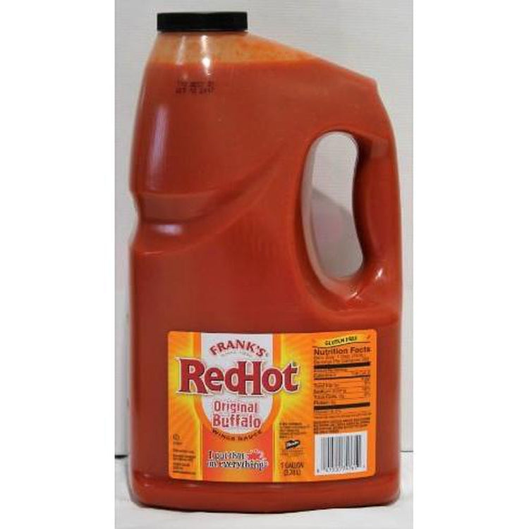 Franks RedHot Original Buffalo Wings Sauce - 4 x 3.8L (case)