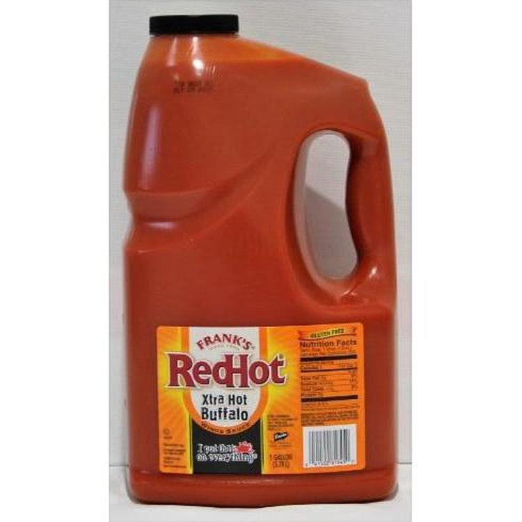 Franks RedHot Hot Buffalo Wings Sauce - 4 x 3.8L (case)