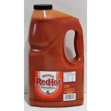 Franks RedHot Original Cayenne Pepper Sauce - 4 x 3.8L (case)