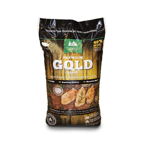 Green Mountain Grills Wooden Pellets - Premium Gold Blend