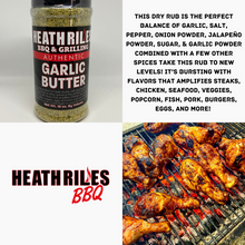Load image into Gallery viewer, Heath Riles Garlic Butter BBQ Rub
