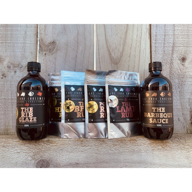 The Four Saucemen Rub & Sauce Combo Pack