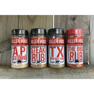 Killer Hogs - Rub Combo Pack