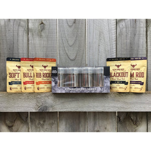 Rum & Que BBQ Rubs - Combo Pack