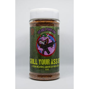 Grill Your Ass Off - Infidel Pork Rub