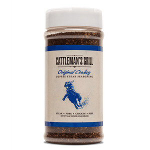 Cattleman's Grill Original Cowboy Coffee Steak BBQ Rub