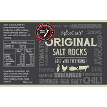 Load image into Gallery viewer, SpiceCraft Salt Rocks Grinder - Original